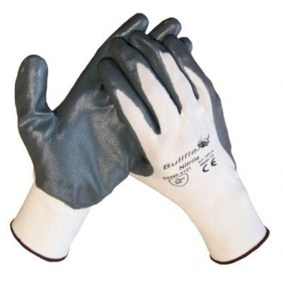 Bull Flex werkhandschoen met Nitril coating op een polyamide onderhandschoen 10314