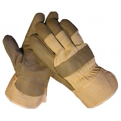 HSGH meubellederen werkhandschoen met palmversterking 10183