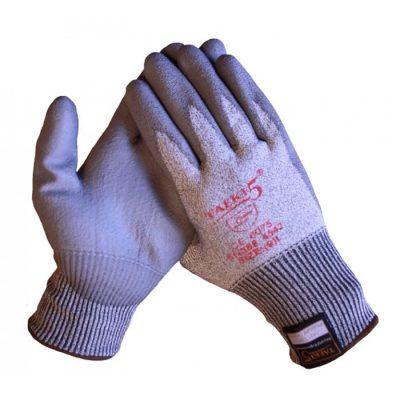 Taeki5 Nitril coating op dyNeema naadloos gebreide onderhandschoen 10315
